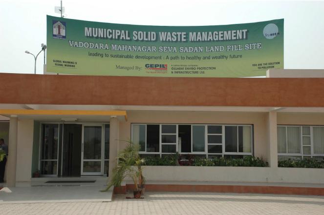 Waste management in India, Makarpura