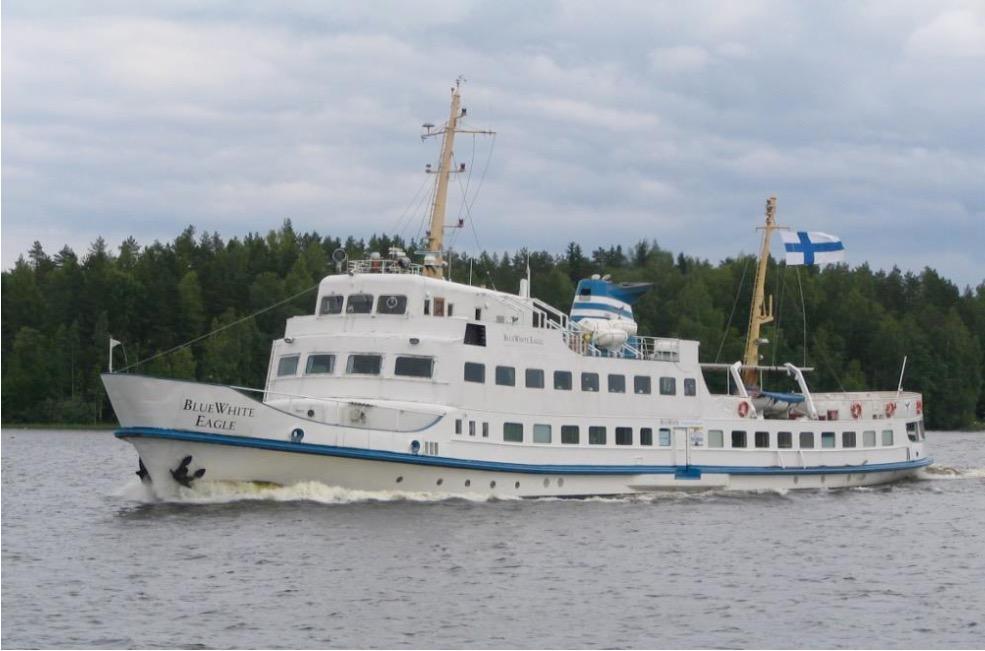 First cruiser demolished in Finland